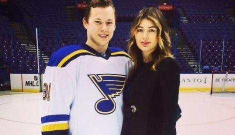 Yana Tarasenko NHL Vladimir Tarasenko's Wife