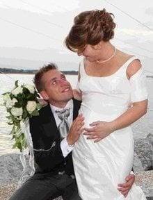 Emanuele Giaccherini wife Dania Gazzani wedding