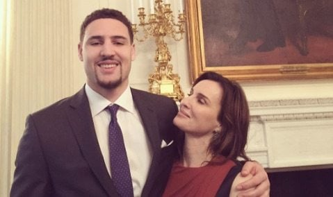 Julie White Thompson NBA Klay Thompson's Mother