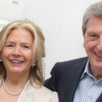 Sheila Hodgson England Roy Hodgson's Wife