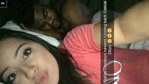 Ezekiel Elliott snapchat girl becky pic