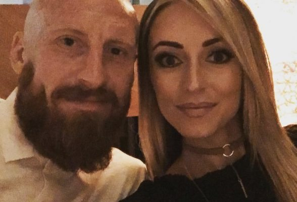Samantha Collins Wales James Collins' Wife