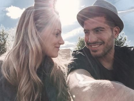 Emre Can with beautiful, Girlfriend Maria Cataleya