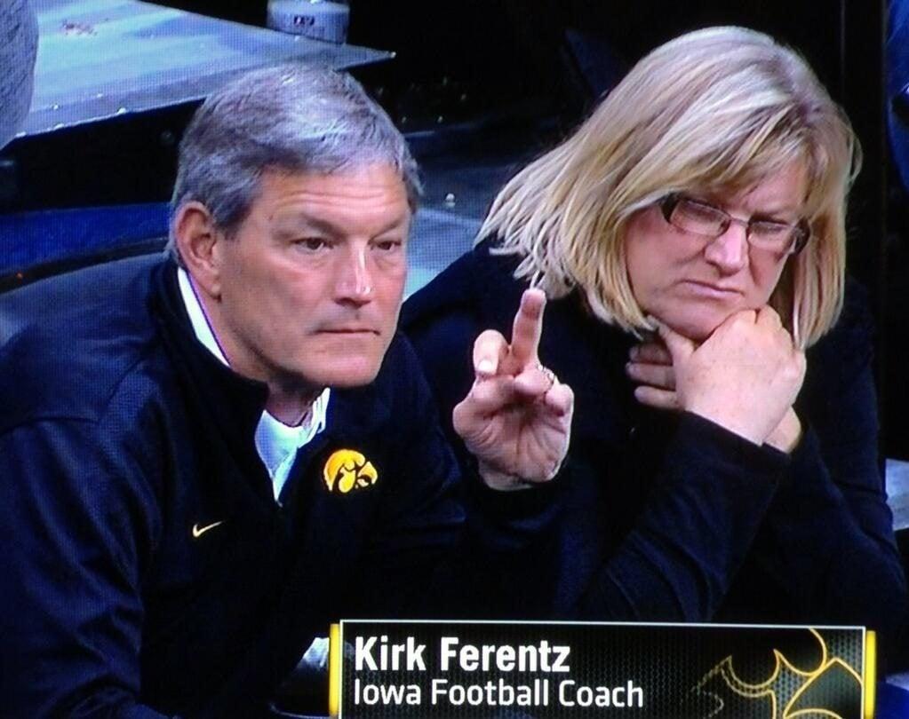 Mary Ferentz Coach Kirk Ferentz Wife Bio Wiki Pics