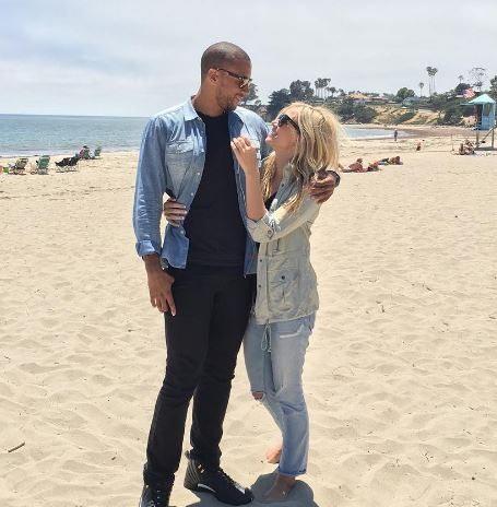 Kristine Leahy Boyfriend Aaron Hines Kris...