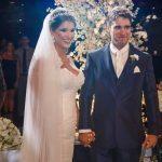 Bruno Schmidt wife Lais Badaro wedding picture