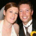 LindsayWhalen husband Ben Greve wedding pic