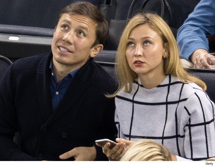 Boxer Gennady Golovkin's Wife Alina Golovkina