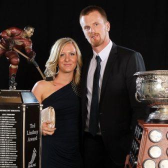 Johanna Sedin NHL Henrik Sedin's Wife