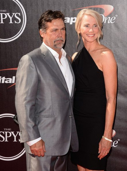 Jeff Fisher and Juli Fisher