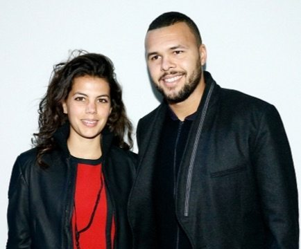Jo Wilfried Tsonga's girlfriend Noura El Shwekh