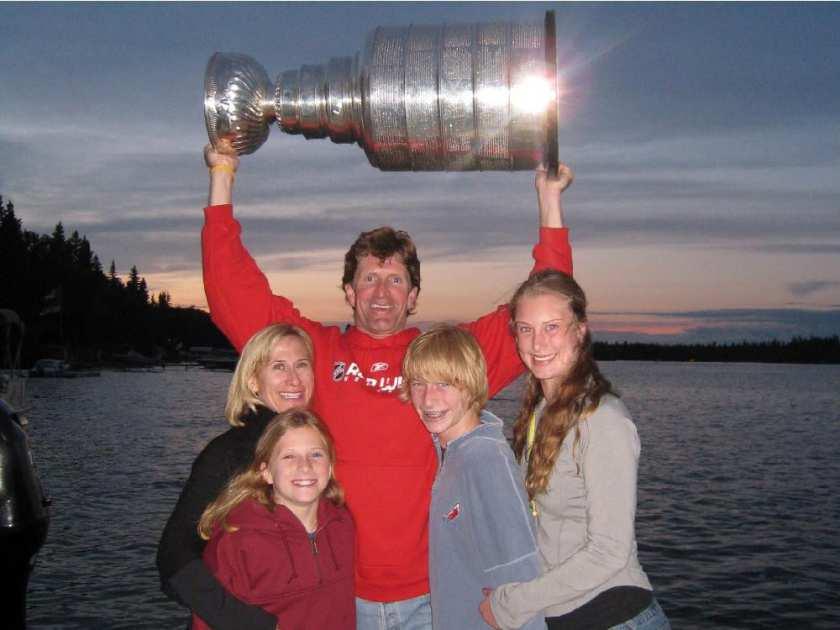 Maureen Babcock NHL Mike Babcock's Wife