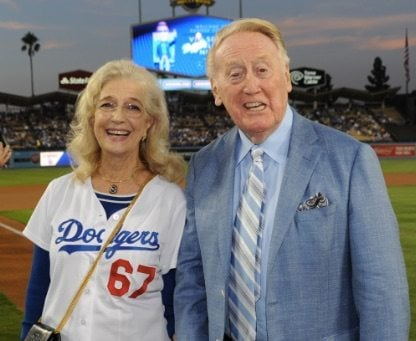 Vin Scully wife Sandra Hunt Scully