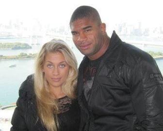 Zelina Bexander Alistair Overeem's Wife