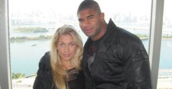 Zelina Bexander Alistair Overeem's Wife