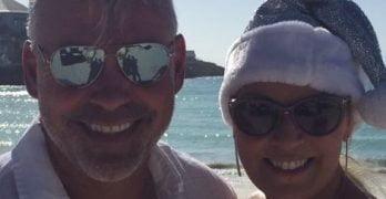 Alison Campbell Golfer Darren Clarke's Wife