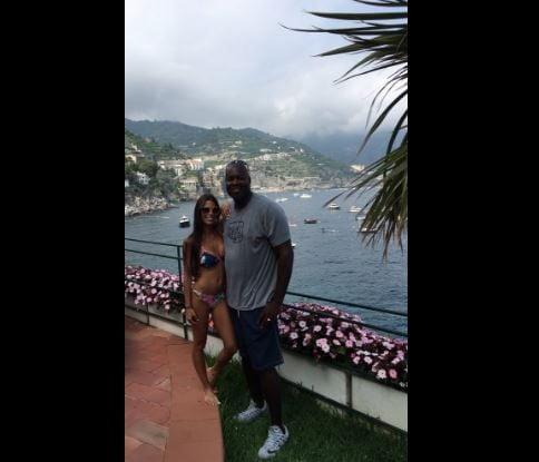 Tia Santoro NBA Glen Rice's Wife - Fabwags.com