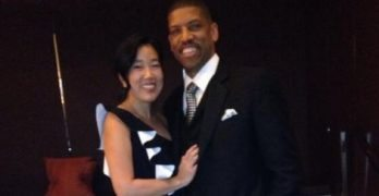 Michelle Rhee Kevin Johnson's wife