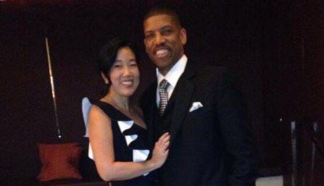 Michelle Rhee Kevin Johnson's wife