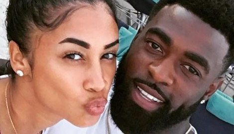 Darnell Nicole NFL Reshad Jones' Girlfriend