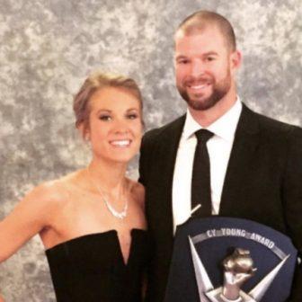 Amanda Kluber MLB Corey Kluber's Wife