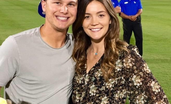 Joc Pederson's Girlfriend Kelsey Williams
