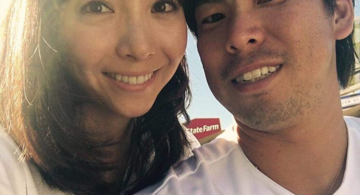 Saho Narushima MLB Kento Maeda's Wife