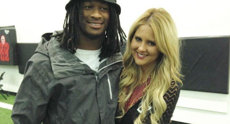 Olivia Davison NFL Todd Gurley's Girlfriend