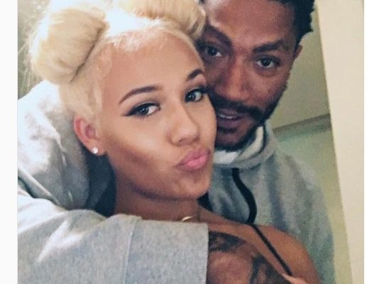 Derrick Rose's Pretty Girlfriend Alaina Anderson