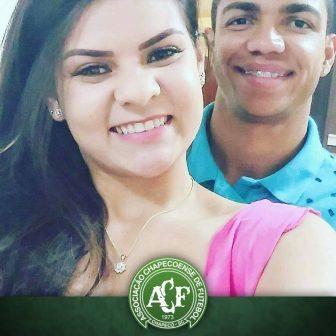 Graziele Alves Chapecoense Tiaginho's Wife