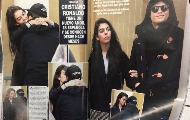 Georgina Rodriguez Cristiano Ronaldo's New Model Girlfriend