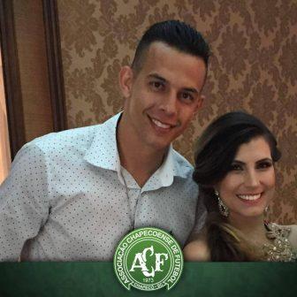 Leticia Padilha Chapecoense Danilo Padilha's Wife