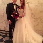 evan-longoria-wife-jaime-faith-edmondson-wedding-photo