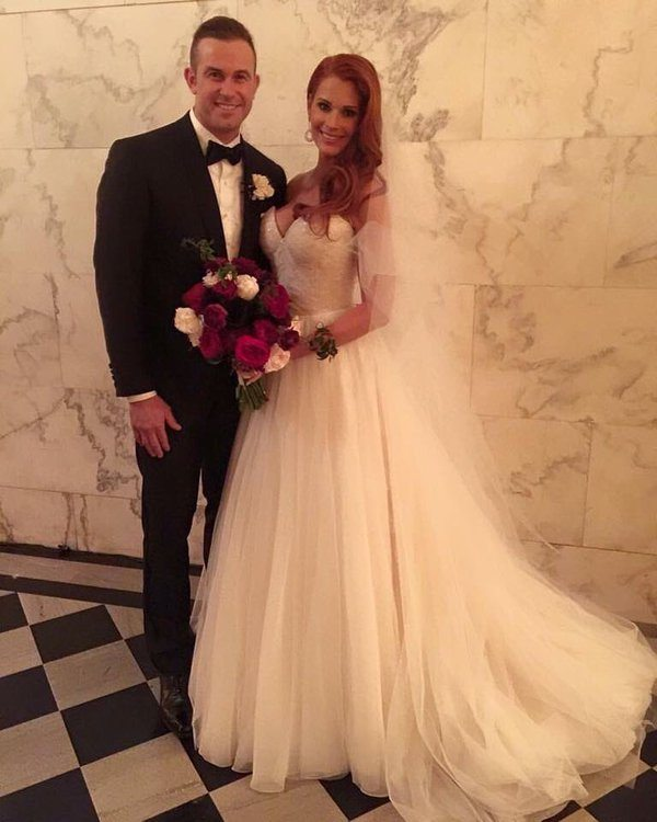 evan-longoria-wife-jaime-faith-edmondson-wedding-photo