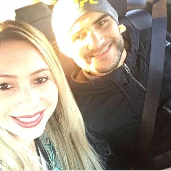 Jacklyne Andrioli Lineker MMA John Lineker's Wife