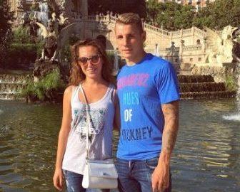 Tiziri Digne Barcelona Lucas Digne's Wife