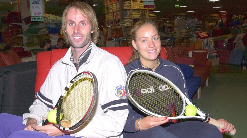 Angelique Kerber and coach Torben Beltz