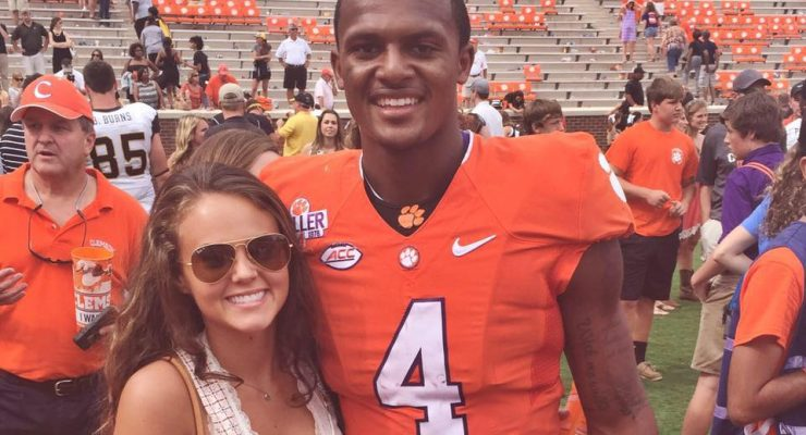 Dallas Robson Clemson Deshaun Watson's Girlfriend