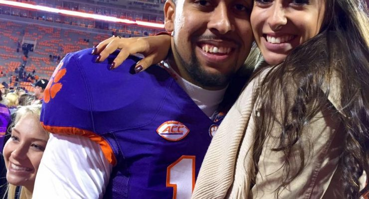 Julie Ciaramello Clemson Jordan Leggett's Girlfriend