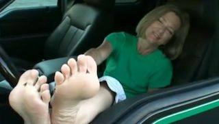 Blonde Feet Fetish