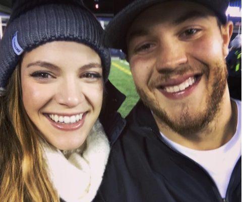 Emily Stratton NFL Ryan Allen's Girlfriend