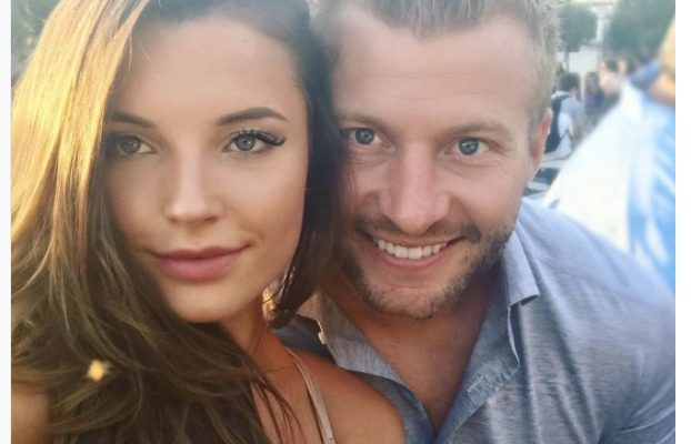 Sean McVay's Girlfriend Veronika Khomyn