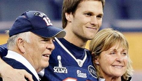 Tom Brady's Parents Tom and Galynn Patricia Brady