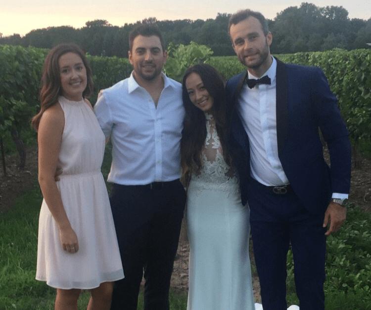 Brent Connolly Katrina Kim wedding