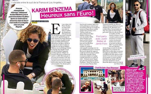 Cora Gauthier Soccer Karim Benzema's Girlfriend