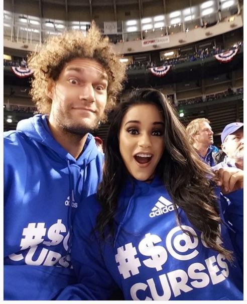 Meet Robin Lopez' Girlfriend Christine Vargas