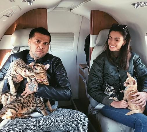 Dani Alves's New Girlfriend Joana Sanz (Bio, Wiki)