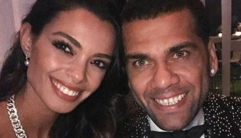 Dani Alves's Girlfriend Joana Sanz