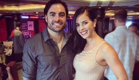 Meet  Nate Ebner's Girlfriend Chelsey Walton