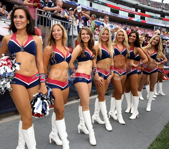 583 x 515 jpeg 84kB, With new england patriots cheerleaders 2017 new ...